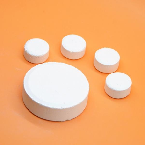 TCCA SDIC Deztab Chlorine Tablet, Effervescent Fast Dissolving Sterilising Tablet #2 image
