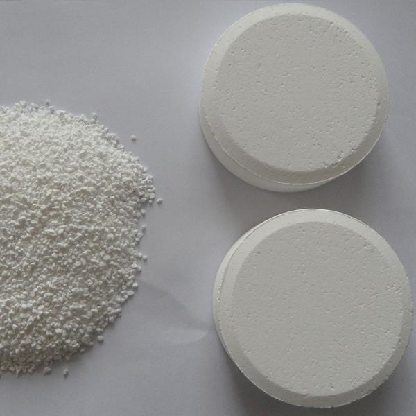 TCCA Tablet Trichloroisocyanuric Acid Chlorine Tablet Water Treatment Chemical #2 image